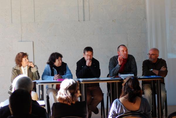 14.11.2013 Jaume Moya, Xarxa Sikarra, explica detalls de la campanya endegada  Els Prats de Rei -  Ramon Sunyer