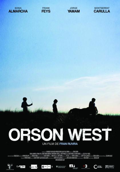 cartell de la pel·lícula - documental Orson West - Hostafrancs