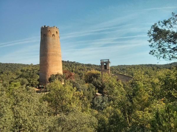 20.11.2013 Vista de la torre  Vallferosa -  Ramon Sunyer