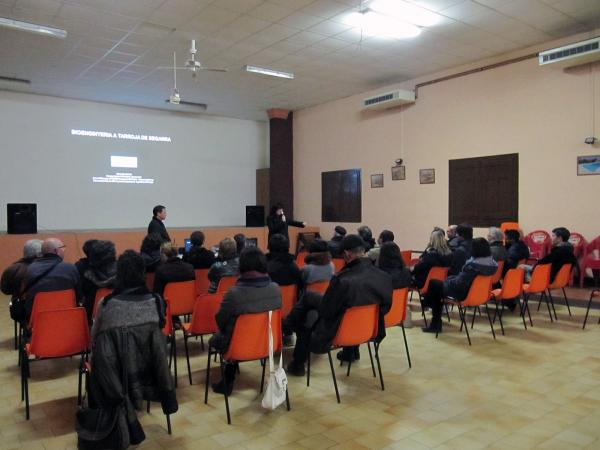 25.11.2013 Xerrada sobre la Bioenginyeria  Tarroja de Segarra -  CC Segarra