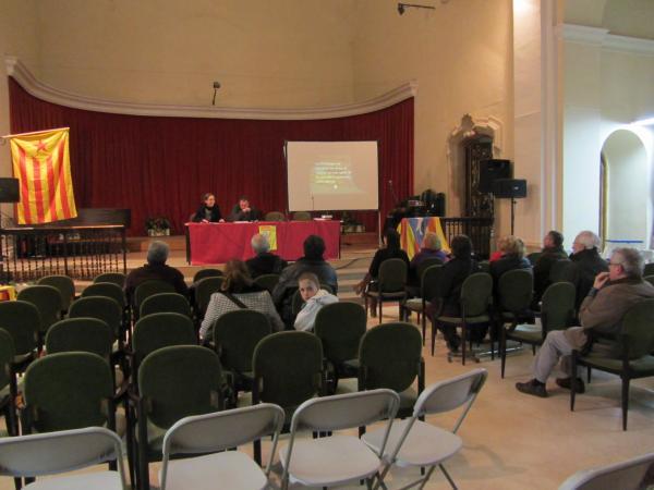 imatge de l'auditori durant l'acte