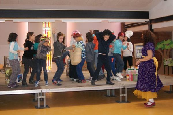 03.12.2013 Contacontes a l'Escola Alta Segarra  Calaf -