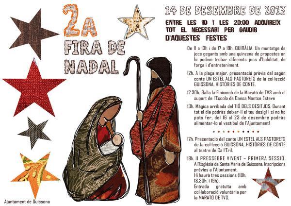 cartell 2a Fira de Nadal