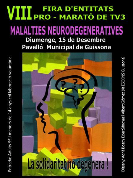 cartell 7a Festa d'entitats Pro-Marató
