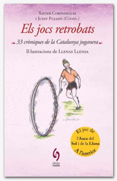 cartell presentació del llibre ELS JOCS RETROBATS