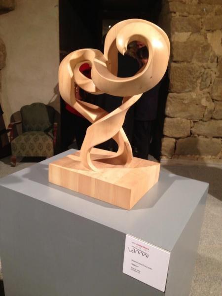 Obra en fusta de Ramon Ninot de Cervera