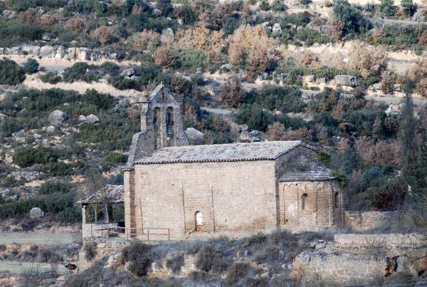Church of  Sant Miquel - Author Ramon Sunyer (2013)