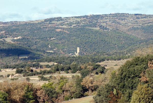 26.12.2013 Vista de la torre  Vallferosa -  Ramon Sunyer