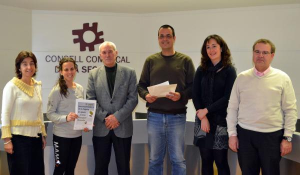 10.01.2014 acte de lliurament dels premis de la 11a edició Jove Emprenedor a la Segarra.  Cervera -  CC Segarra