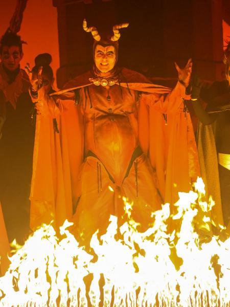 24.01.2014 l'infern  Calaf -  Els Pastorets de Calaf