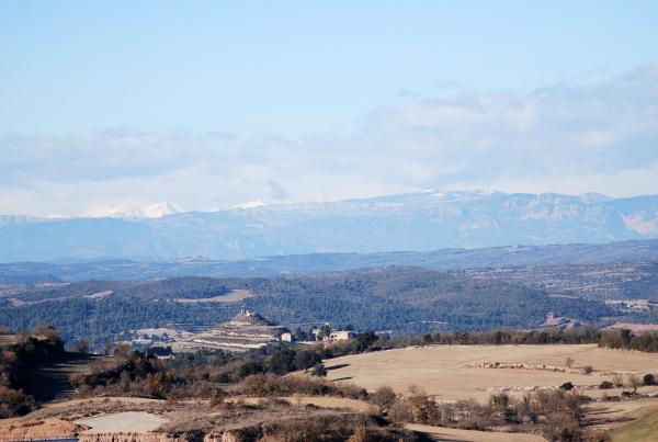 02.02.2014 Paisatge  Calonge de Segarra -  Ramon Sunyer