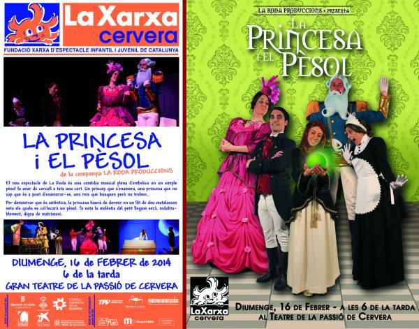 cartell La Xarxa - teatre infantil