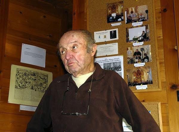 Ernest Guille i Moliné fundador de l'observatori - Pujalt