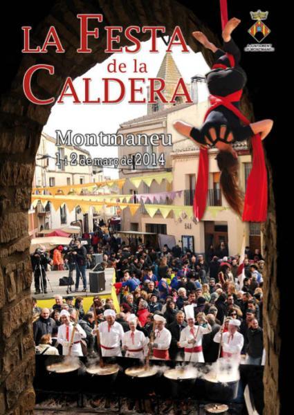cartell Festa de la Caldera 2014
