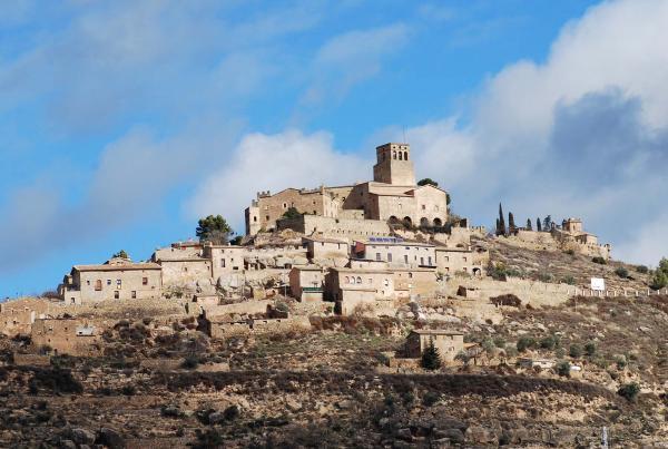 04.03.2014 Vista del poble  Ribelles -  Ramon Sunyer