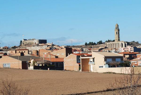 04.03.2014 L'antic castell reformat  Calaf -  Ramon Sunyer