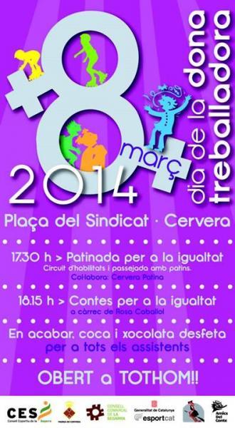 La Segarra commemora el Dia Internacional de les Dones - Cervera