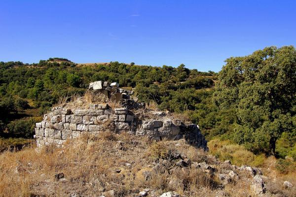 06.03.2014 Restes del castell de Montpaó  Ribera d'Ondara -  Angelina Llop