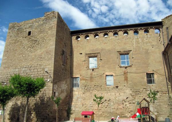 06.03.2014 És el castell o casal fortificat més gran  Concabella -  J. I. Argilés