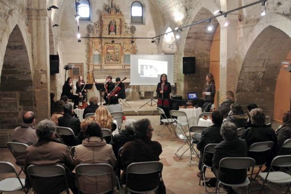 08.03.2014 actes en motiu del Dia Internacional de la Dona  Cervera -  CC Segarra