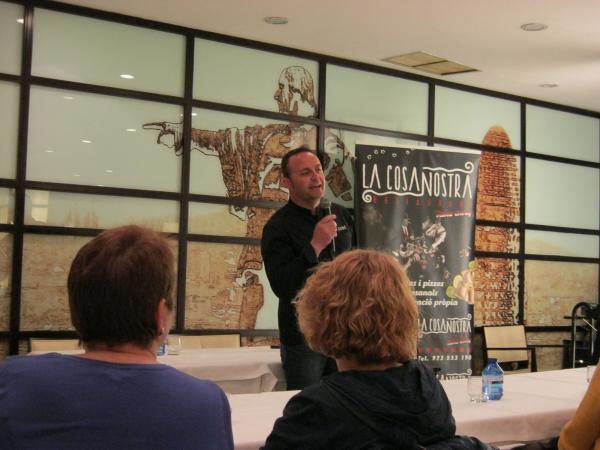 """12.03.2014 Pastes la Cosa Nostra a la campanya 'Mostra de productes de qualitat de Catalunya"""", organitzada pel Corte Inglés  Barcelona -  CC Segarra"""