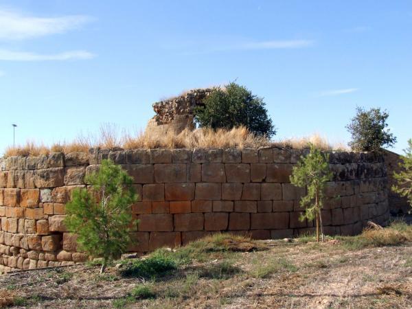 12.10.2009 Castell Lliuró o Torre Romana  Castellnou d'Ossó -  Ramon Oromí