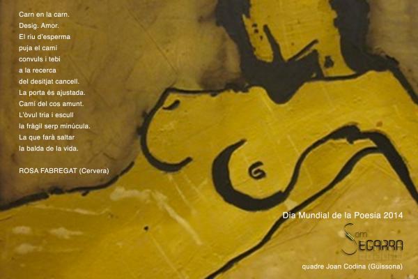21.03.2014 Homenatge al dia de la poesia  -  Som Segarra