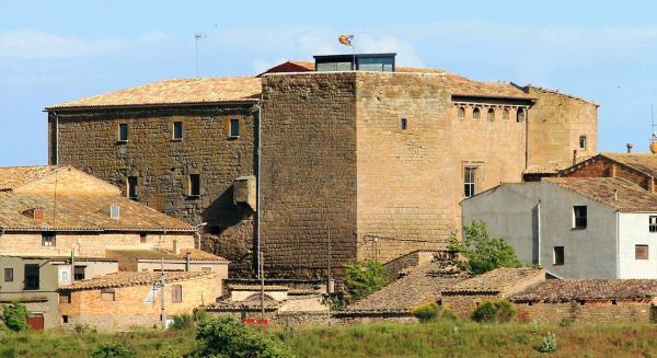 31.03.2014 Una altra vista de l'imponent castell  Concabella -  Concabella Ratera