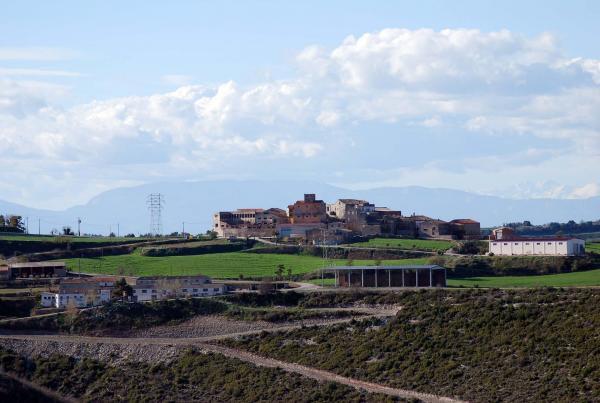 04.04.2014 Vista del poble  Carbasí -  Ramon Sunyer