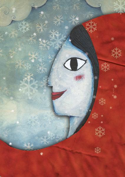 cartell Exposició Color de conte. Il·lustracions d'Anna Terricabras