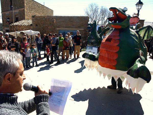 09.04.2014 presentacio d'Hug, el drac del Llor  Florejacs -  Jaume Moya