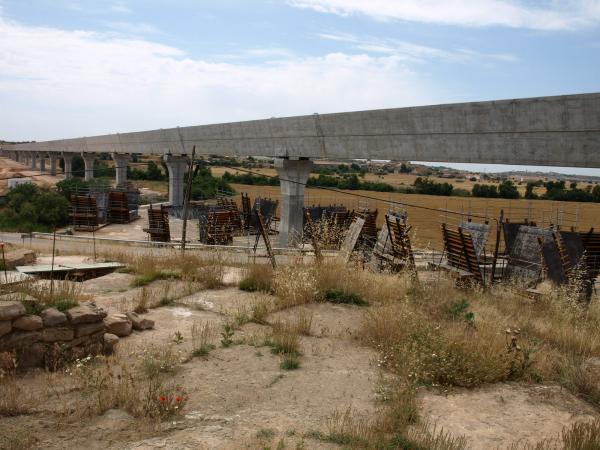 aqüeducte del Canal Segarra - Garrigues als Plans de Sió