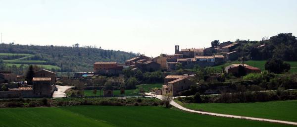 14.04.2014 Vista del poble des del nord  Conill -  Ramon Sunyer