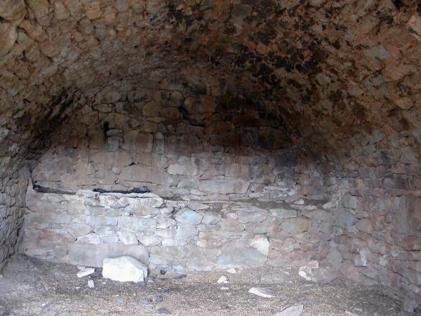 20.04.2014 detall de la volta amb les pedres encaixades  -  Ramon Sunyer