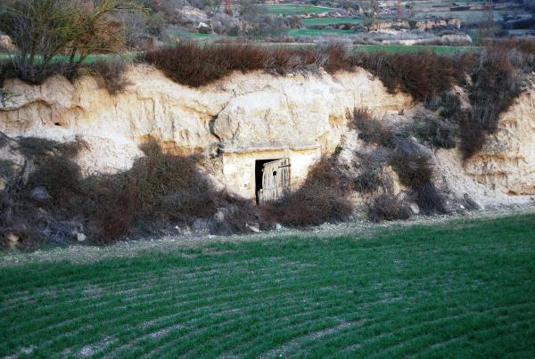 20.04.2014 cabana encastada en el terreny  Torà -  Ramon Sunyer