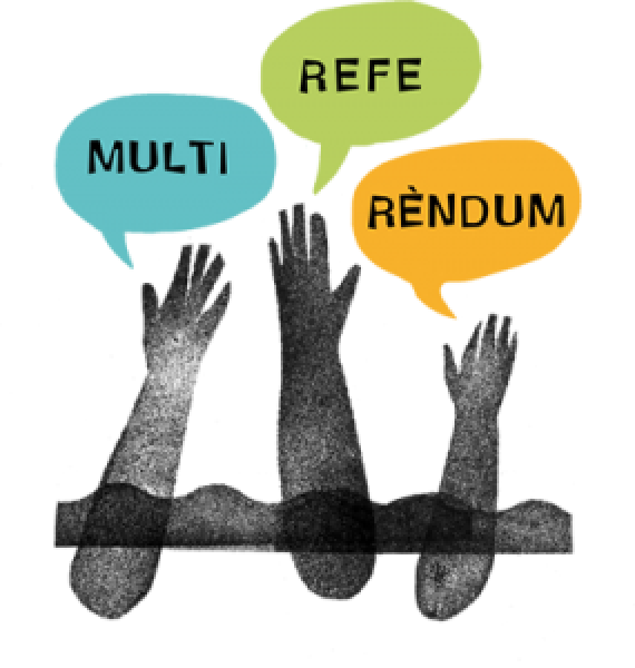 logotip del  Multireferèndum 2014 -