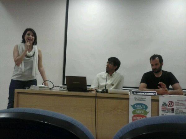 Laia Azcona presenta l'acte