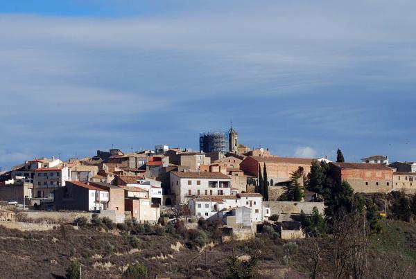 14.03.2014 Torre del Moro, en procés de restauració  Ivorra -  Ramon Sunyer