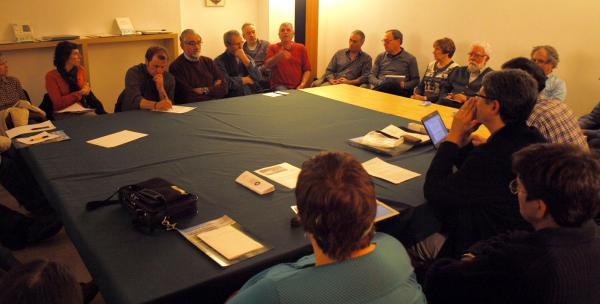 reunió constituent de la Xarxa Sikarra, novembre de 2012 a Verdú - Verdú