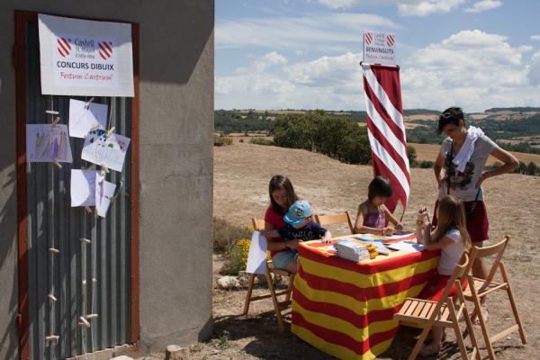 15.06.2014 V Festum Castrum - concurs de dibuix infantil  Alta-riba -  Miquel Torres