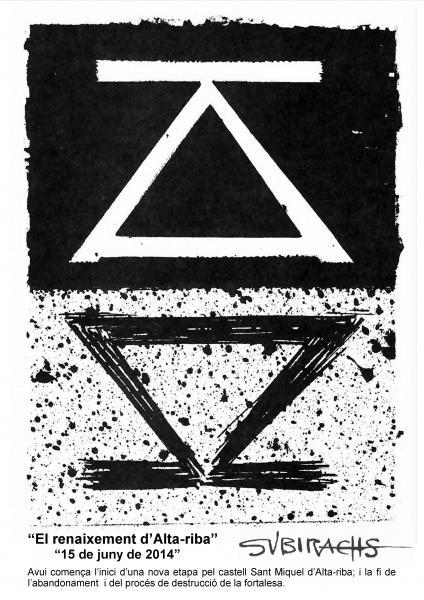 15.06.2014 Invitació V Festum Castrum - El renaixement d'Alta-riba  Alta-riba -  AACSMA