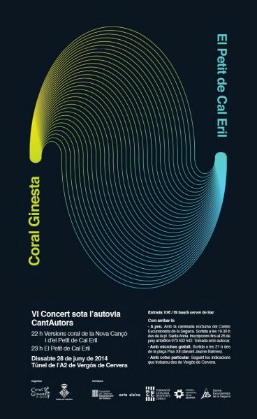 cartell 6è Concert sota l'Autovia