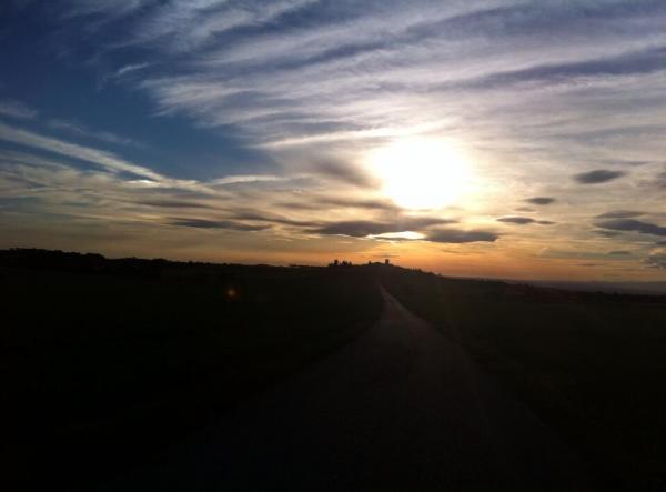 26.06.2014 Posta de sol  L'Ametlla de Segarra -  Maria Parellada