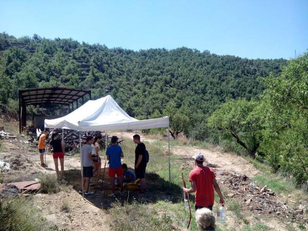 03.07.2014 Camp de treball local a Sanaüja  Sanaüja -  CC Segarra
