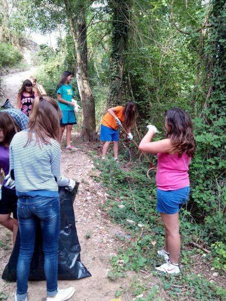 Camp de treball local a Torà - Torà