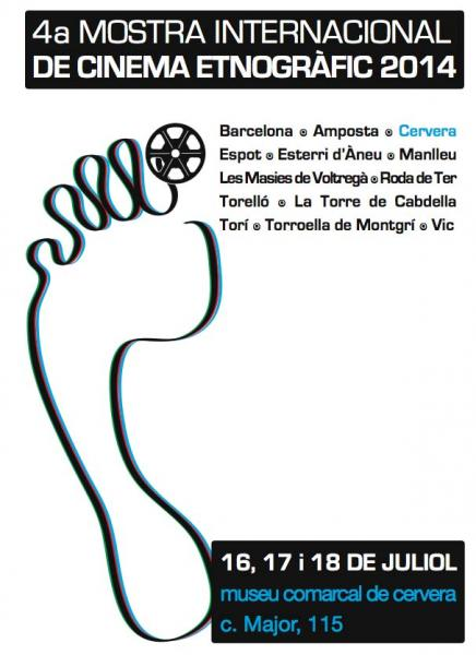 cartell IV Mostra Internacional de Cinema Etnogràfic