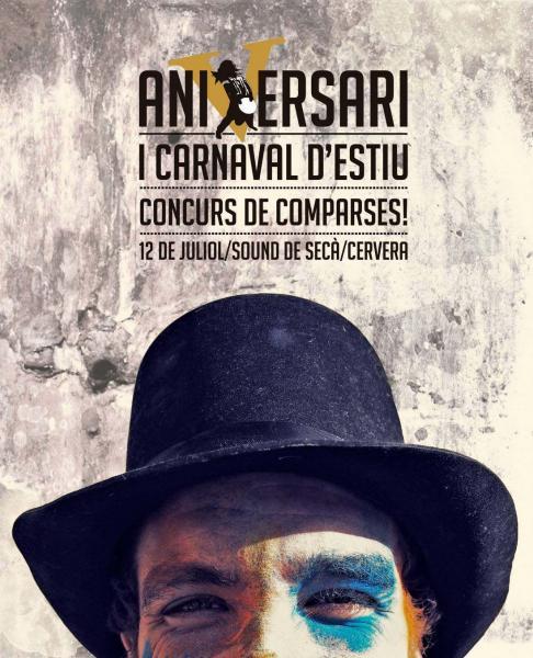 cartell 1r Carnaval d'estiu