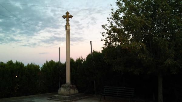 11.07.2014 Creu de terme  L'Ametlla de Segarra -  Ramon Sunyer