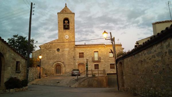 Iglesia de Sant Pere - Autor Ramon Sunyer (2014)