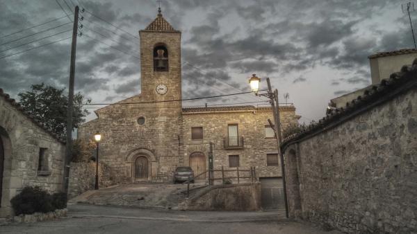 14.07.2014 Església de sant Pere  L'Ametlla de Segarra -  Ramon Sunyer